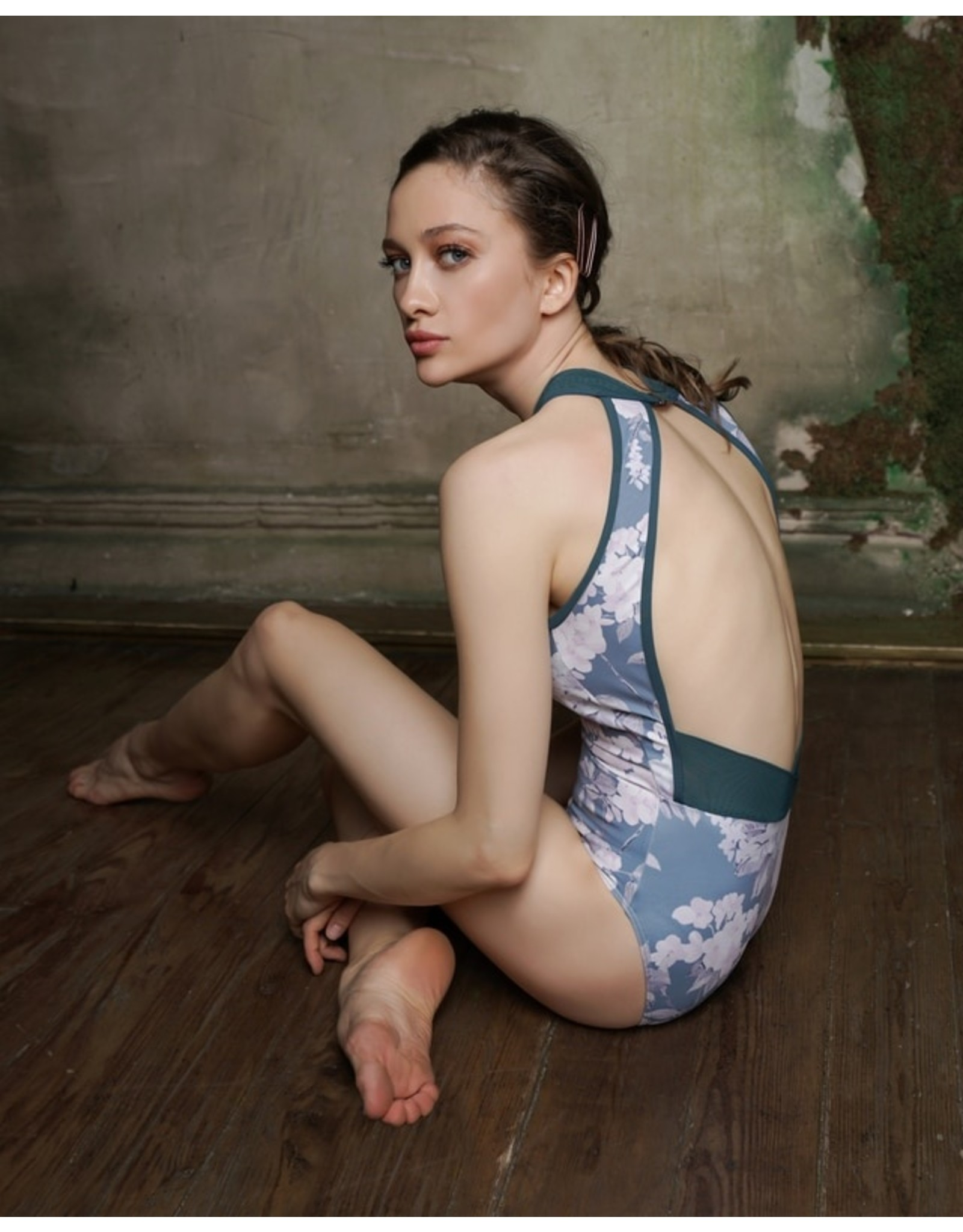 ELEVE MARIE MOODY BLUES LEOTARD