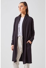 MPG EXHALE RECYCLED POLYESTER LUXE OPEN CARDIGAN