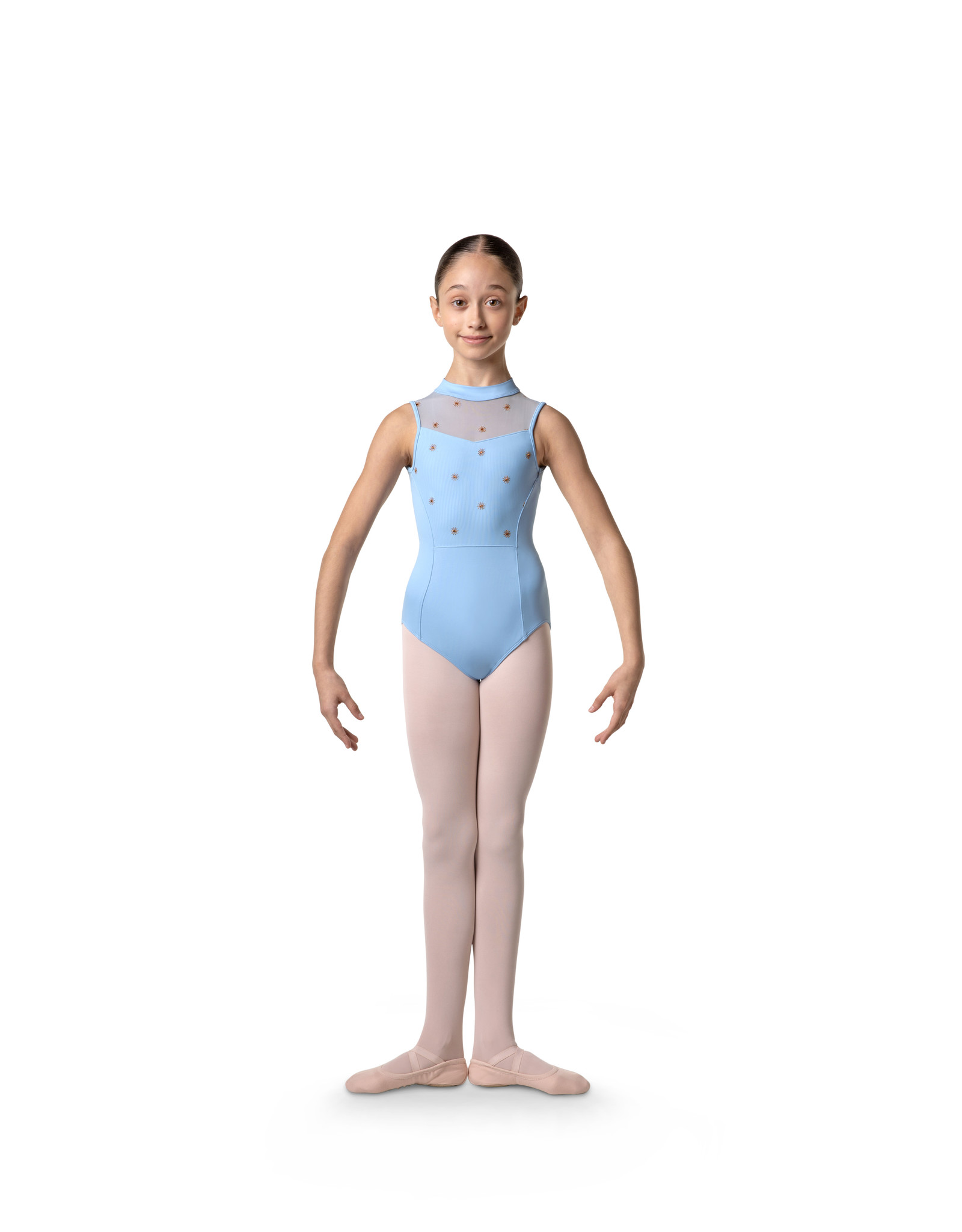 BLOCH LILLIE HIGHNECK TANK LEOTARD