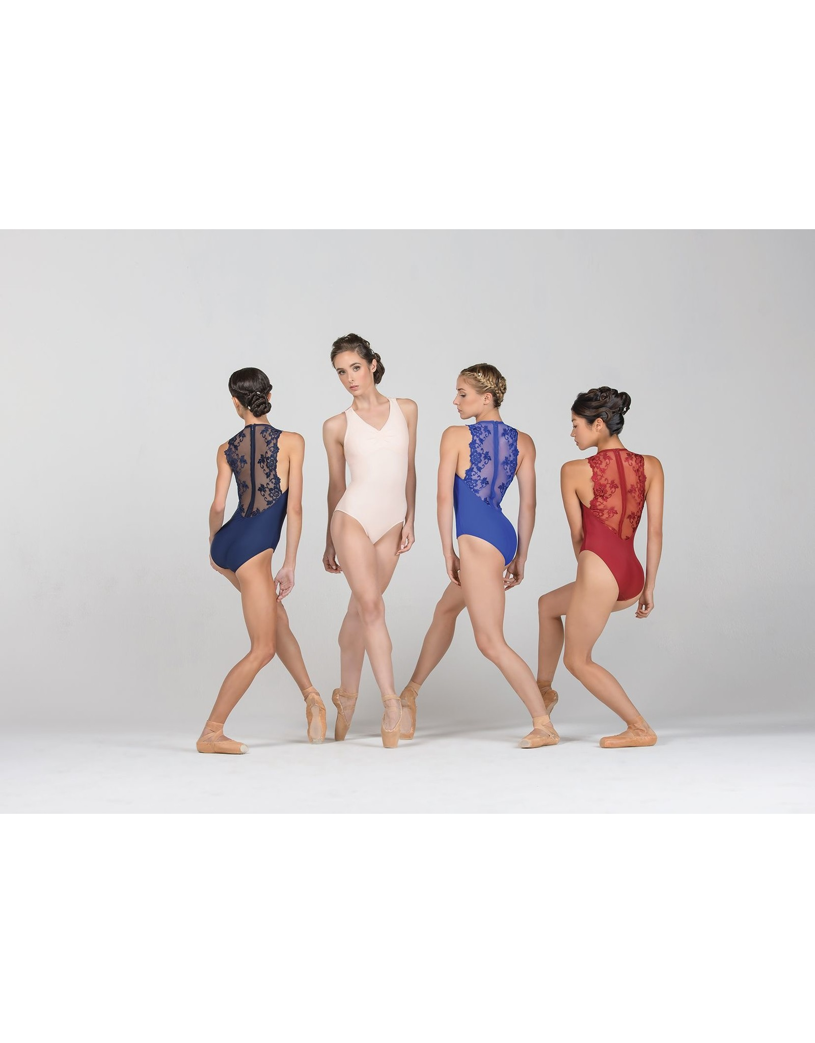 BALLET ROSA ESTHER ZIP BACK LEOTARD