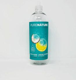 Purenature Purenature - Empty Bottle, Dish & Hand Liquid (710ml)