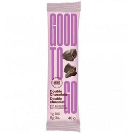 Good to Go Good To Go - Keto Bar, Double Chocolate (40g)