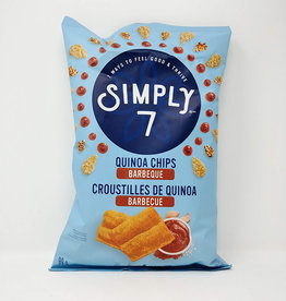 Simply 7 Simply 7 - Quinoa Chips, BBQ (100g)