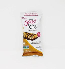 Good to Go Love Good Fats - Chewy-Nutty Peanut Chocolatey (40g)