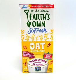 Earths Own Earths Own - So Fresh Oat Milk, Unsweetened Original (946ml)