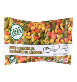 Green Organic Green Organic - Frozen Vegetables, Organic Mixed Veggies (500g)