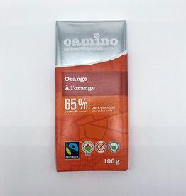 Camino Camino - Chocolate Bar, Dark Orange (100g)
