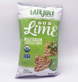 Neal Brothers Late July - Multigrain Snack Chip, Sub Lime (156g)