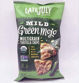 Neal Brothers Late July - Multigrain Snack Chip, Mild Green Mojo (156g)