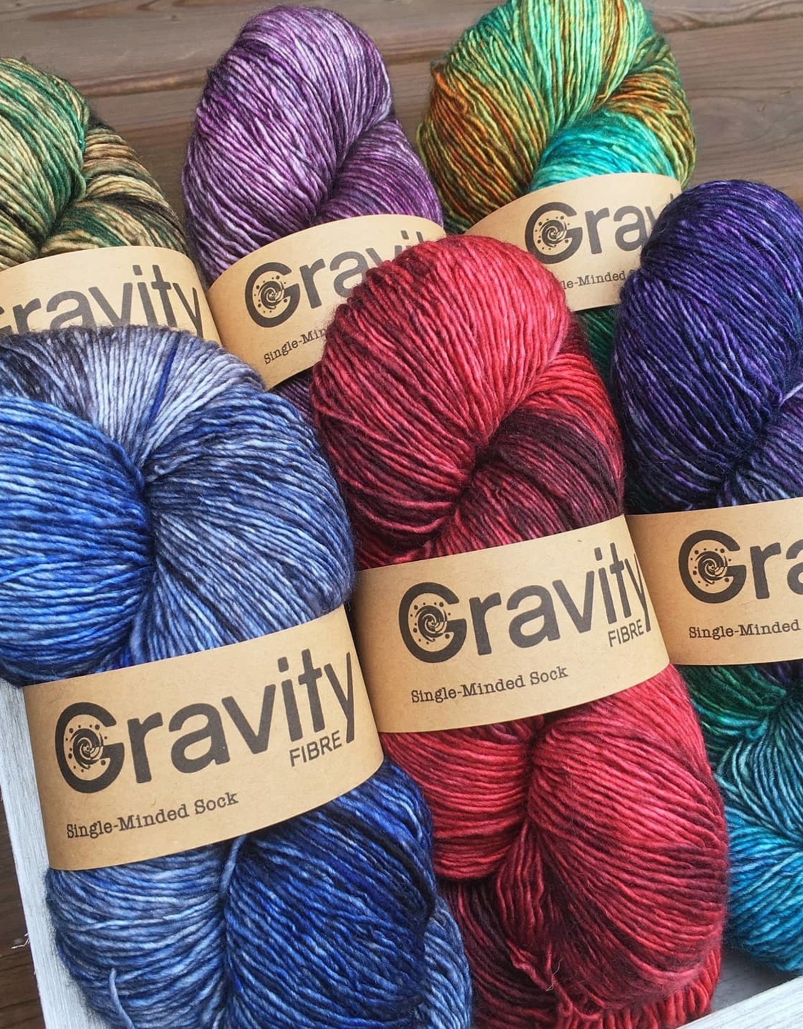 Gravity Fibre Single-Minded Sock