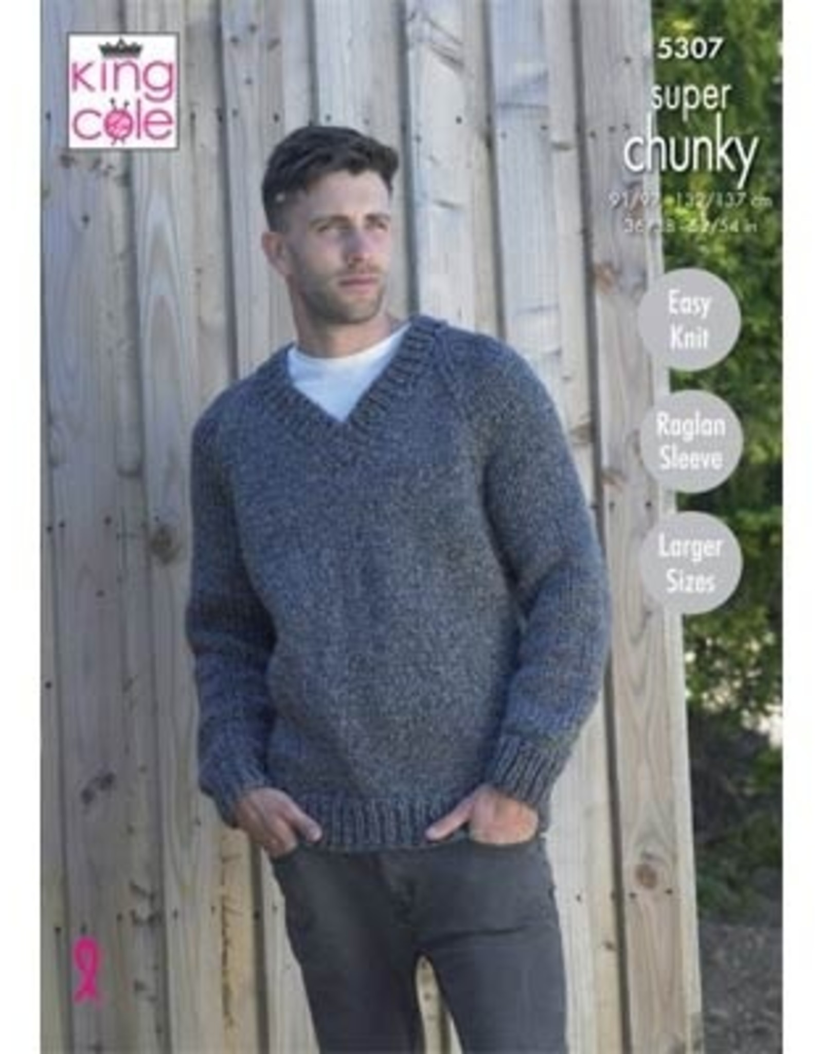 King Cole Pattern - Men's Pullover 5307