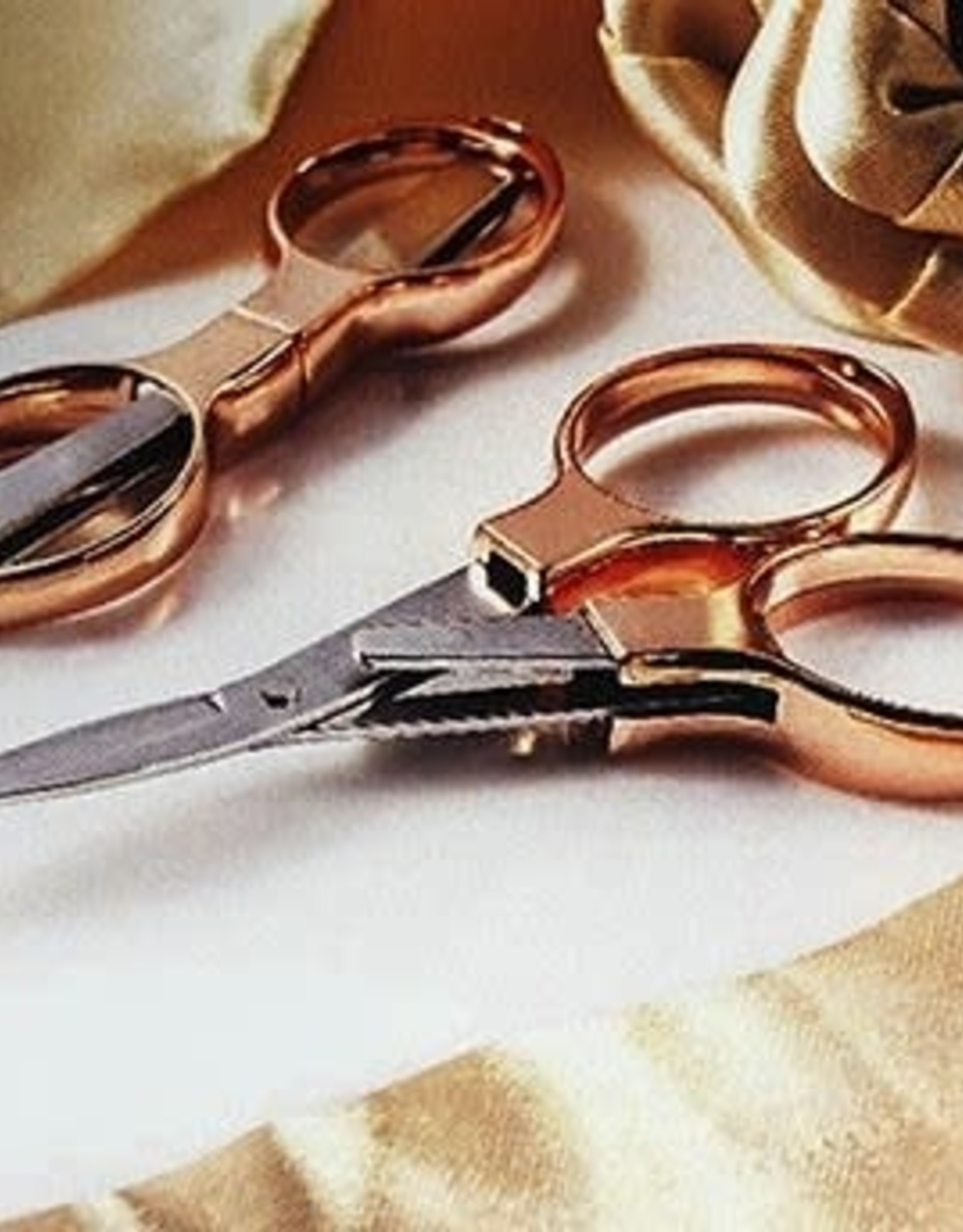 Folding Scissors - Rose Gold