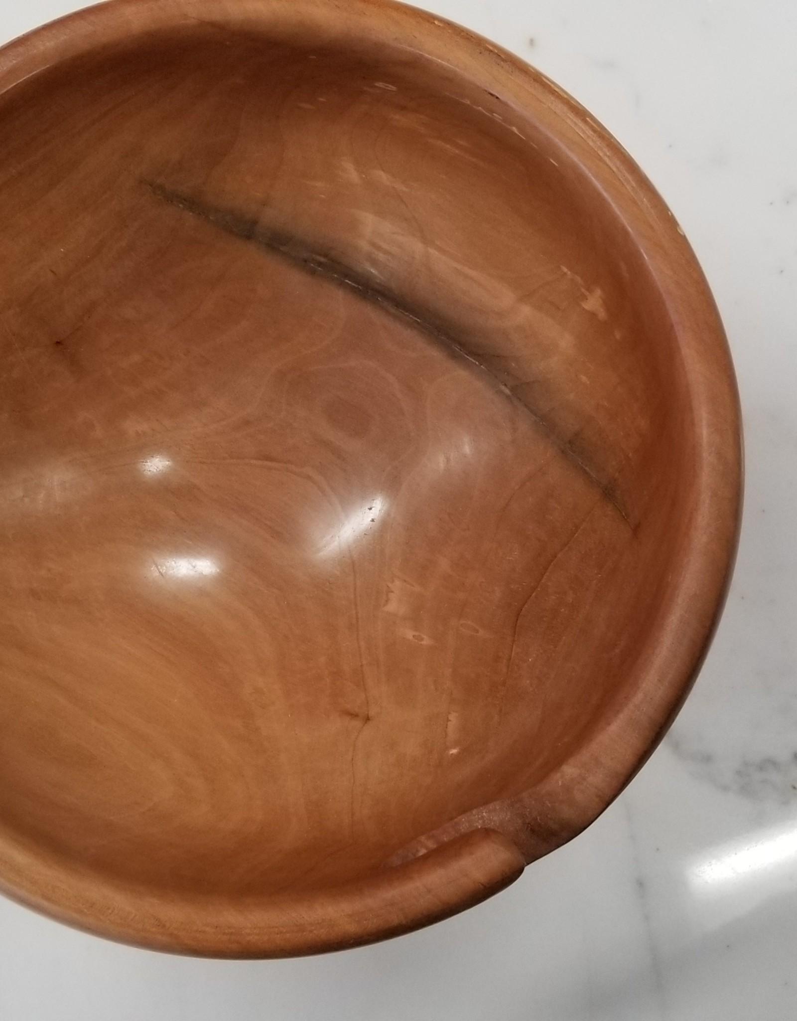 Wooden Yarn Bowl - AT001