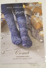 West Yorkshire Spinners WYS  Sock Pattern - Comet