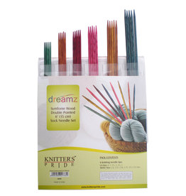 "Knitters Pride Dreamz 6"" Double Pointed Needles Set"