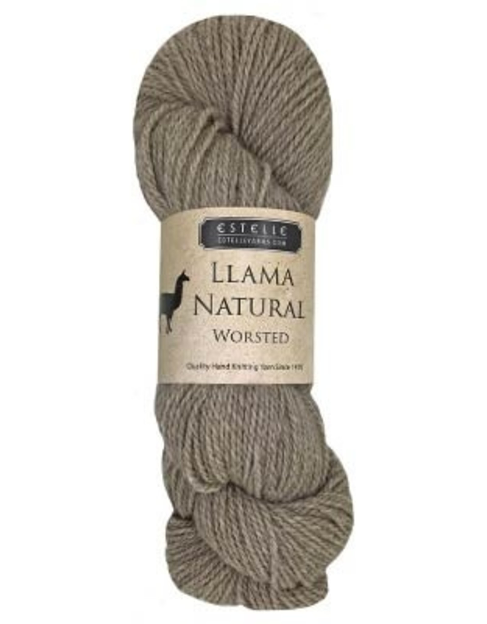 Estelle Yarns Llama Natural Worsted - Fawn