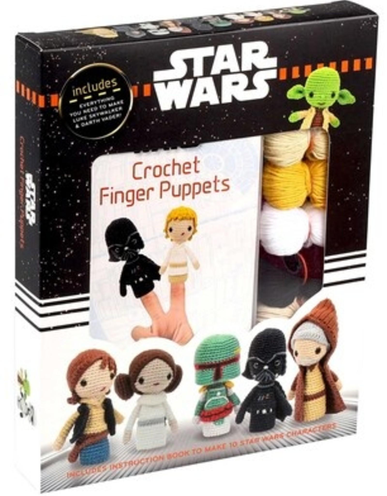 Star Wars Crochet Finger Puppets
