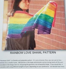Rainbow Love Pattern