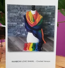 Rainbow Love Pattern - Crochet