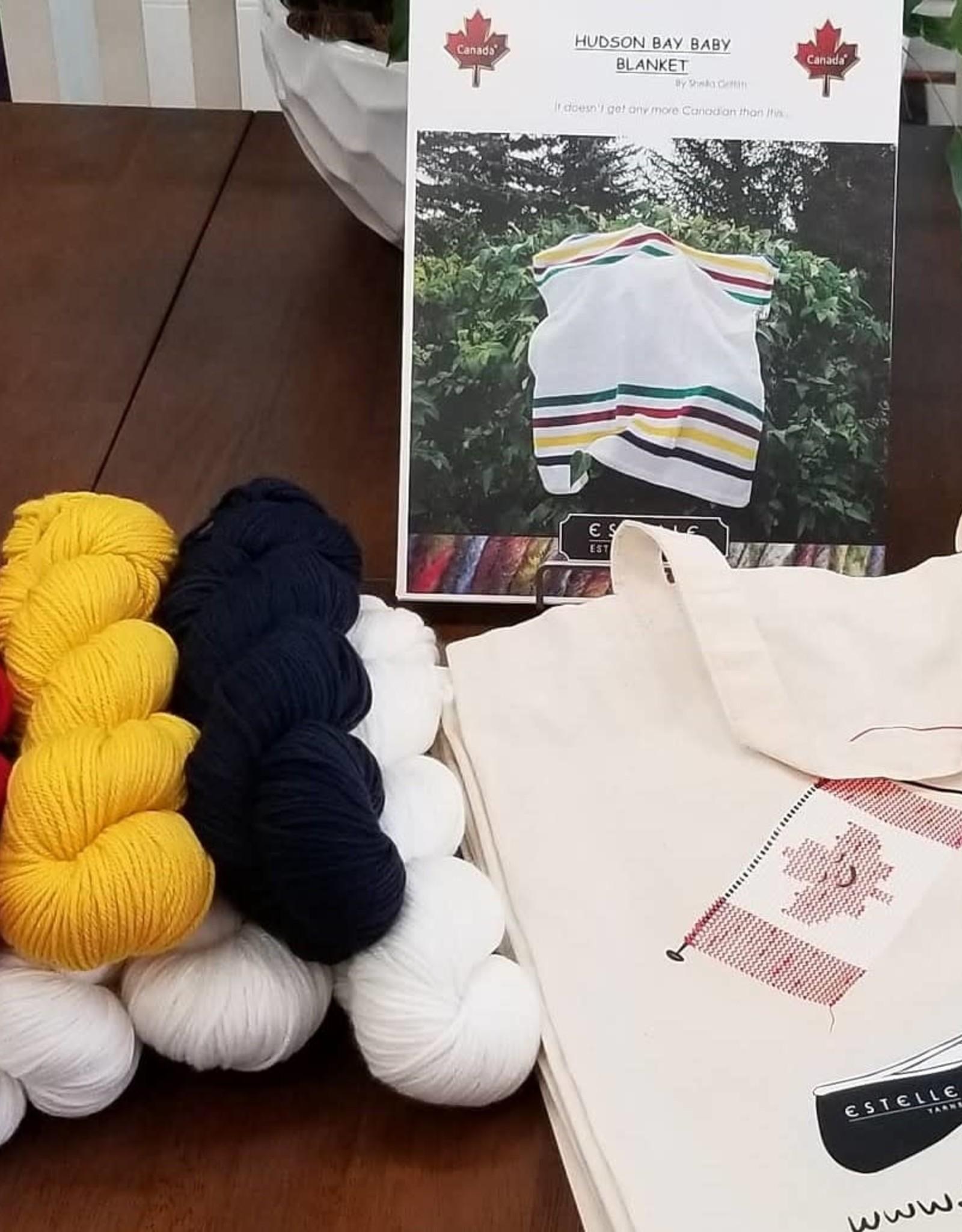 Estelle Yarns Hudson Bay Baby Blanket Kit