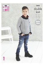 King Cole Pattern - Boys Sweater - 5483