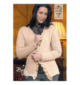 King Cole Pattern - Woman's Sweater - 3106