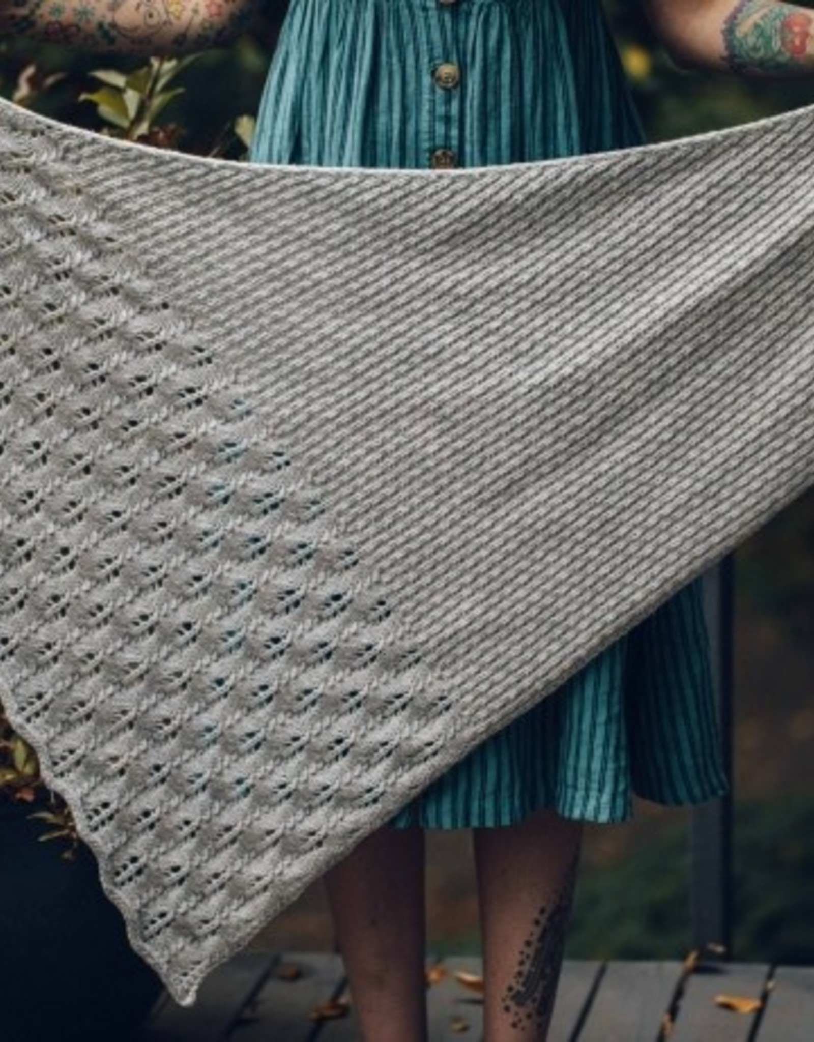 Knit Project - Hoarfrost Shawl (Class B)