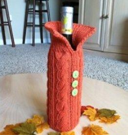 Knit Project - Wine Bottle Cozy