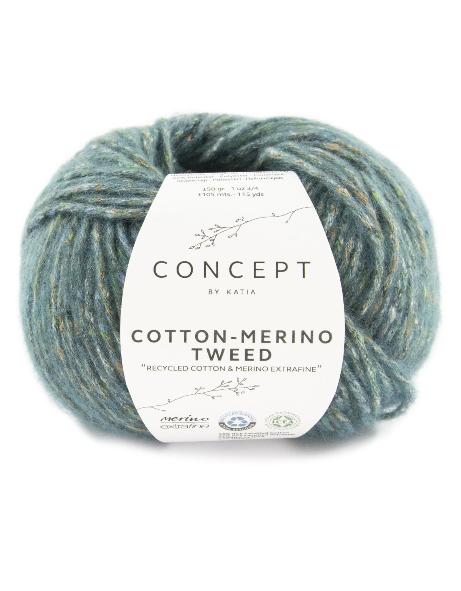 Concept Cotton Merino Tweed
