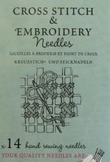 Cross Stitch & Embroidery Needles