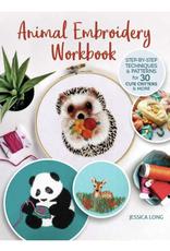 Animal Embroidery Workbook