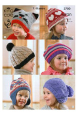 King Cole Pattern - Child's Hats