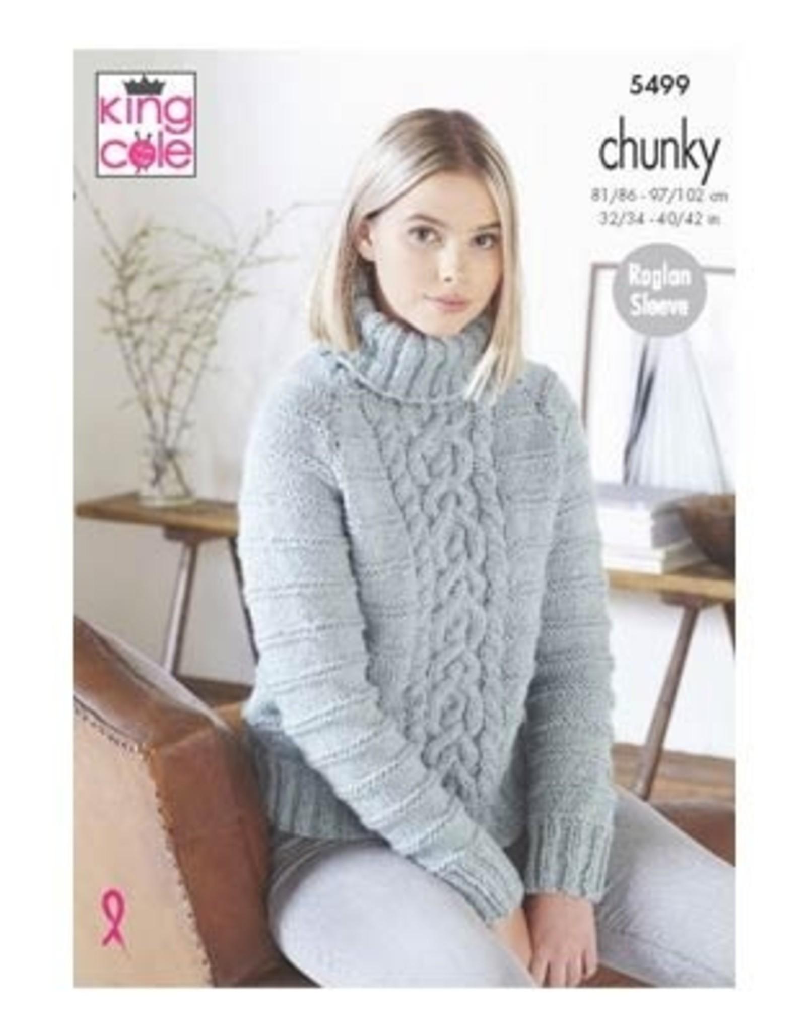 King Cole Pattern - Unisex Chunky Sweater