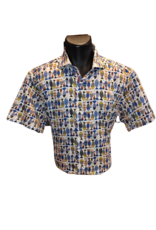 CHEMISE 7 DOWNIE MANCHES COURTES