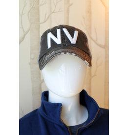 Grey Trucker NV Adjustable Hat