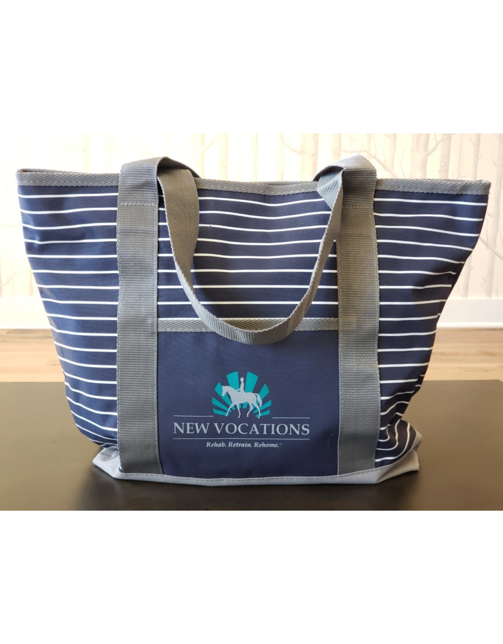 Zippered Business Tote