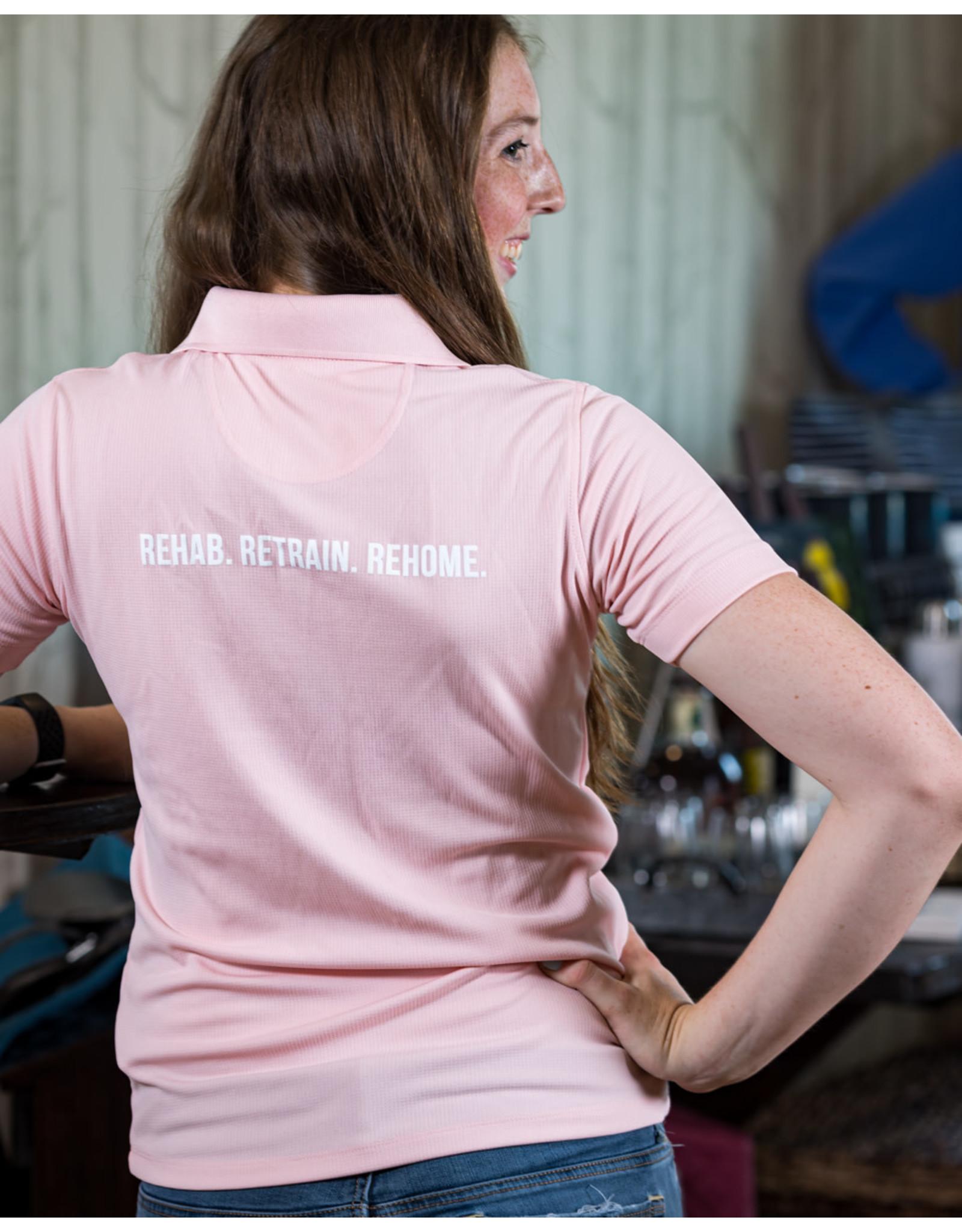 Pink Women's Polo  Shirt