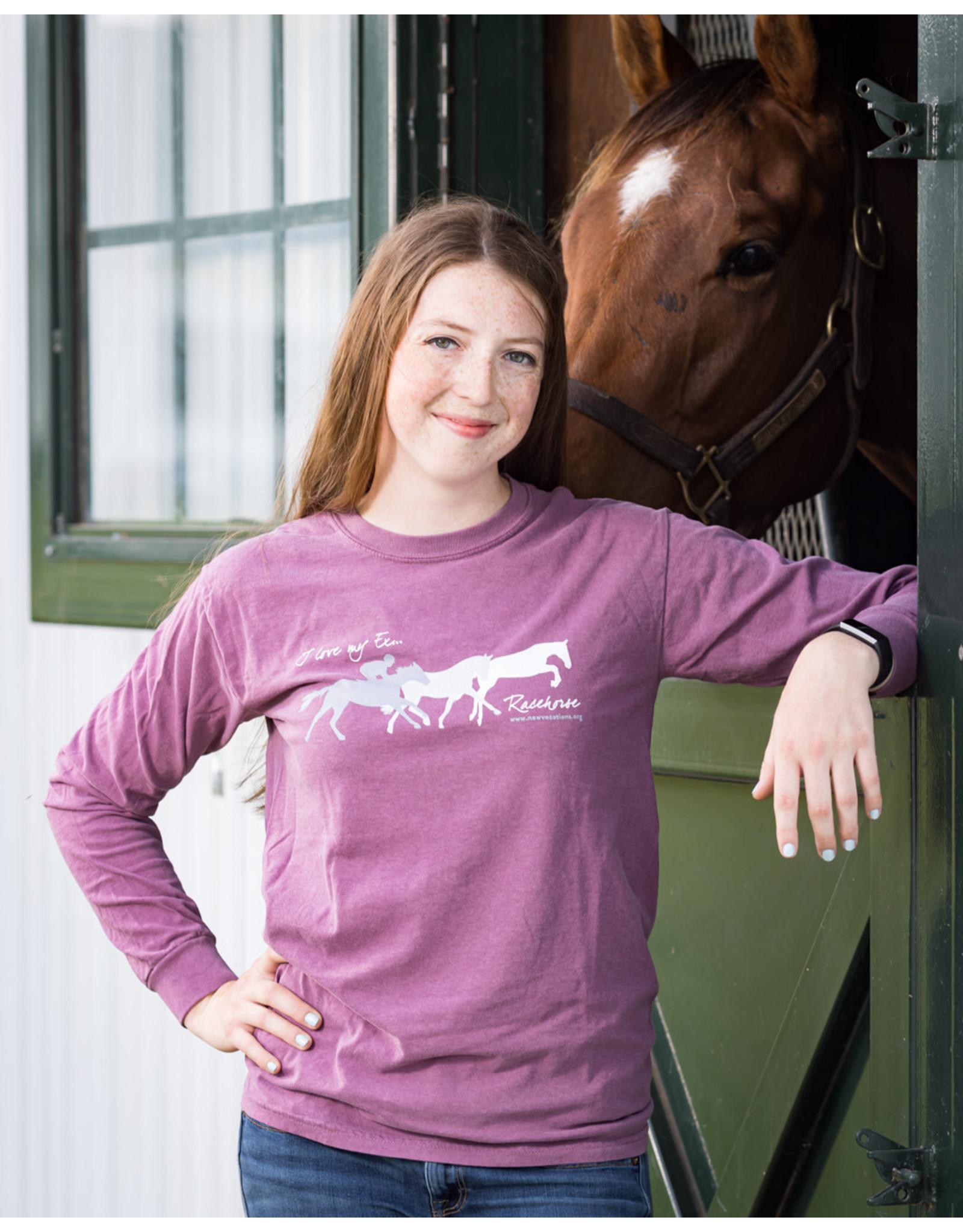 "Heather Berry ""I Love My Ex..."" Long Sleeve T-Shirt"