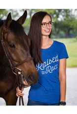 """Royal """"Raised to Race, Recycled to Ride"""" T-Shirt (Slim fit)"""