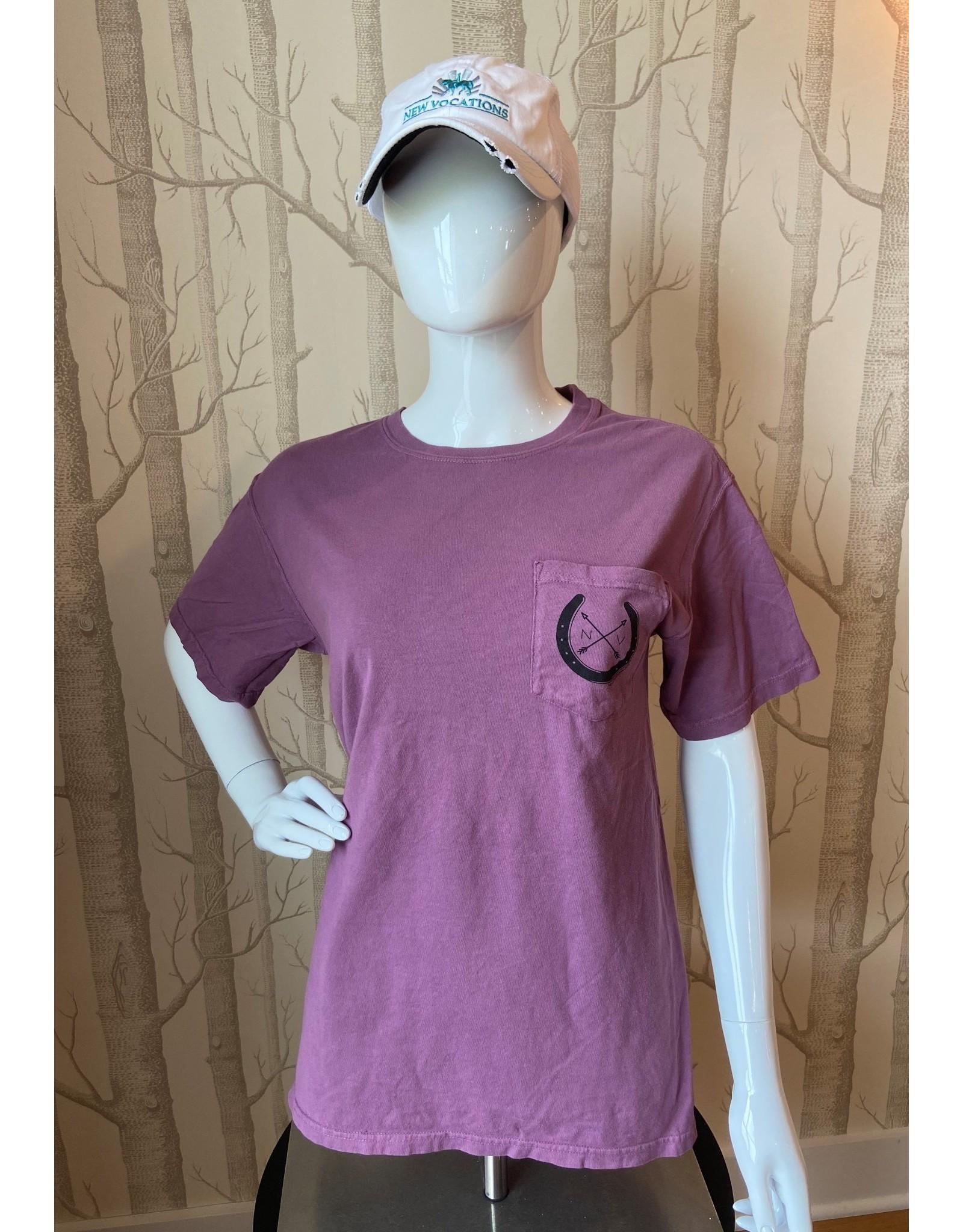 Plum Pocket T-Shirt