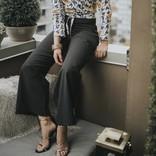 Jessica Redditt Design Pinstripe Palazzo Pant