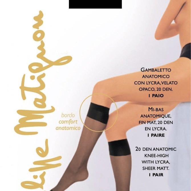 Philippe Matignon Premiere 20 Denier Knee High