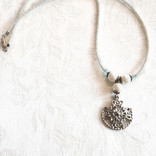 Ellice and Her Necklace Priscilla Necklace