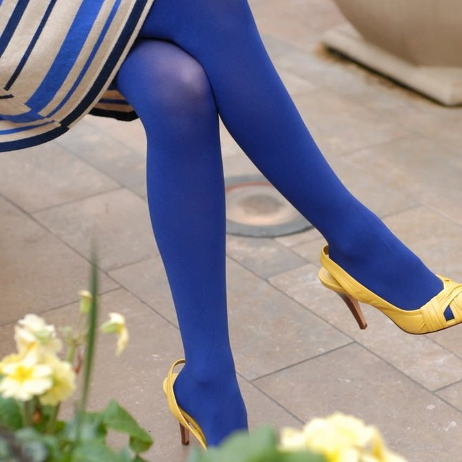 Tabbisocks Opaque Zokki Colours Tights