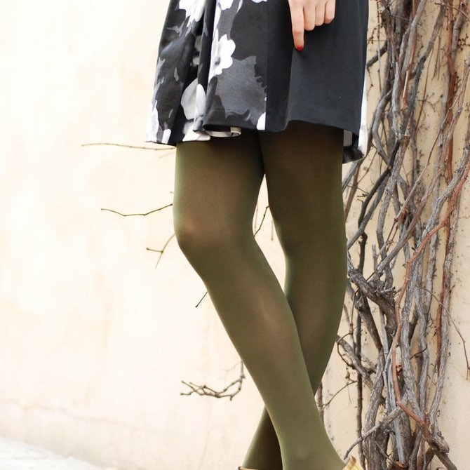 Tabbisocks Opaque Zokki Neutral Tights
