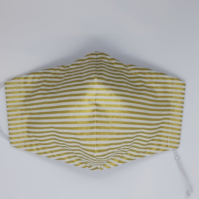 Pretty Handy Girl Striped Protective Mask