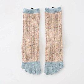 Knitido Cable Confetti Toe Sock