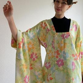 Ryokusuido Vintage Silk Michiyuki Kimono Jacket