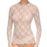 Hanky Panky Long Sleeve Lace Top 128L