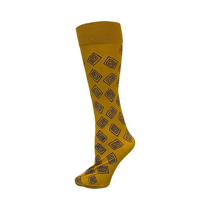 Polonova Hand-Printed Trouser Sock Squares